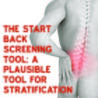 The STarT back screening tool: a plausible tool for stratification