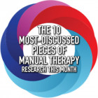 The 10 Most Discussed Pieces of Research in Manual Therapy this Month [Infographic]