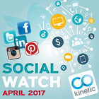 Social Media Watch - April 2017 [Article]