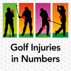 Golf Injuries in Numbers Infographic