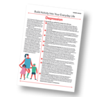 Patient Information Leaflet: Build Activity Into Your Everyday Life - Depression [Printable leaflet]