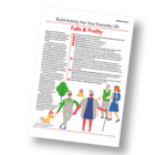 Patient Information Leaflet: Build Activity Into Your Everyday Life - Falls and Frailty [Printable leaflet]