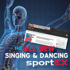 The all new sportEX website