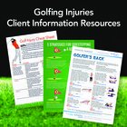 Golfing Injury Patient Information Resources