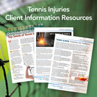 Tennis Injury Patient Information Resources