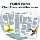 Football/Soccer Injury Patient Information Resources