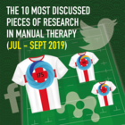 The 10 Most Discussed Pieces of Research in Manual Therapy: Jul-Sept 2019 [Infographic]