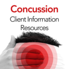 Concussion Management Patient Information Resources