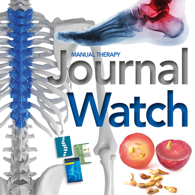 Massage Therapy Journal Watch - April 2020 [Article]