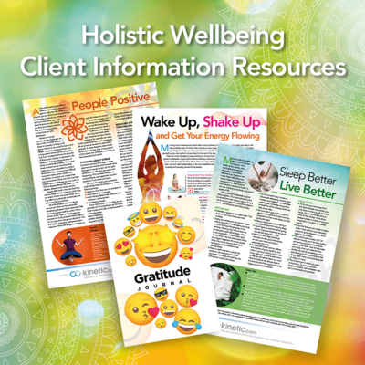 Holistic Wellbeing Patient Information Resources