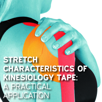 Stretch characteristics of kinesiology tape: a practical application