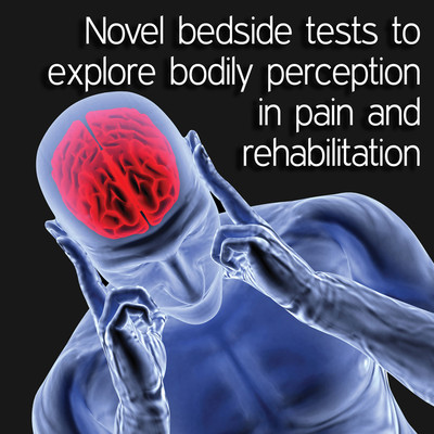 Novel bedside tests to explore bodily perception in pain and rehabilitation