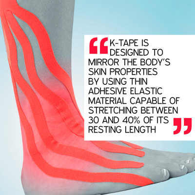 A review of the impact of kinesiology tape on fascial chains and flexibility