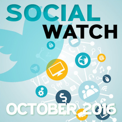Social Media Watch - October 2016 [Article]