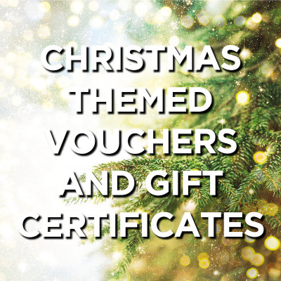 Christmas Themed Vouchers and Gift Certificates [Printable Resources]