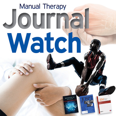 Massage Therapy Journal Watch - July 2018 [Article]