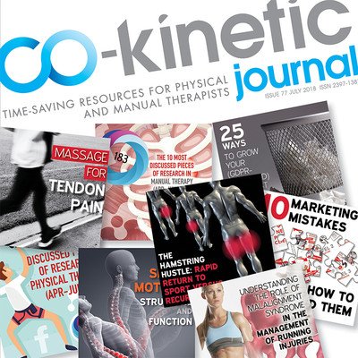 Interactive Overview of the Co-Kinetic Journal - July 2018 [Infographic]