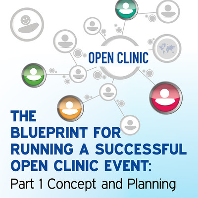 The Blueprint for Running a Successful Open Clinic Event: Part 1 Concept and Planning [Article]