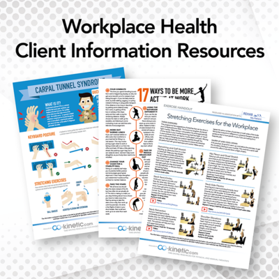 Healthier Workplaces Patient Information Resources