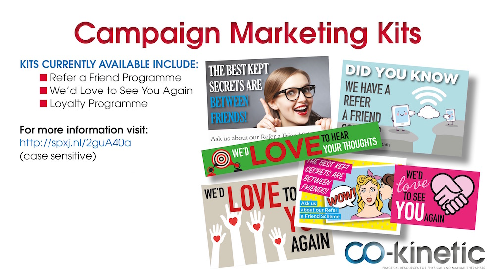 Marketing Campaign Kits For Therapists From CoKinetic Article